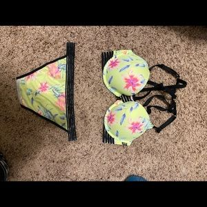 Victoria's Secret PINK push-up bra and panty set